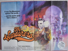 The Wanderers Film Poster, UK Quad